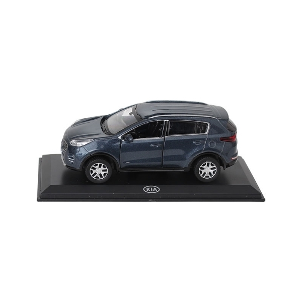 Picture of Model Car Kia Sportage Planet Blue Metallic