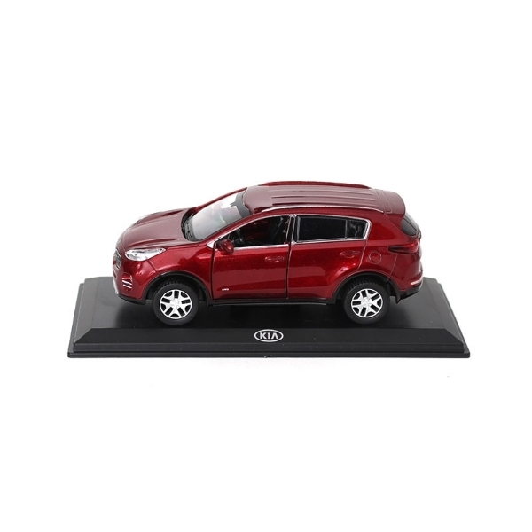 Picture of Model Car Kia Sportage Infrarot Metallic